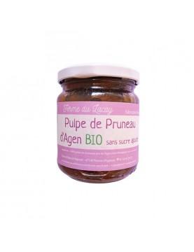 Pulpe de pruneaux d'Agen sans sucre BIO - 200 g