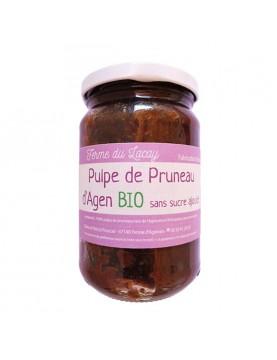 Pulpe de pruneaux d'Agen sans sucre BIO - 310 g