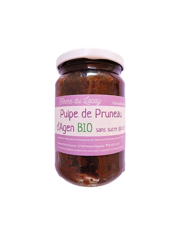 Pulpe de pruneaux d'Agen sans sucre Agriculture Biologique