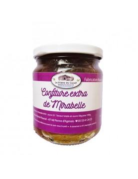 Confiture extra de Mirabelle BIO - 220 g